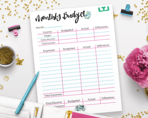 How-To-Make-A-Monthly-Budget-And-Save-Money